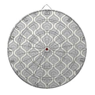 Geométrico gris claro y blanco