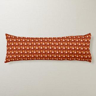 Geométrico metálico del art déco - cobre y moho almohada
