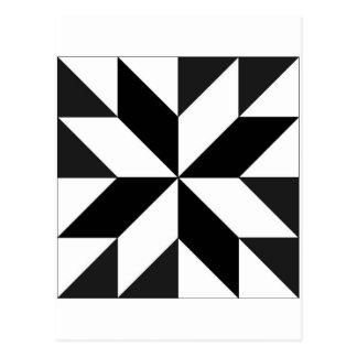 geométricos de los blocos tarjeta postal