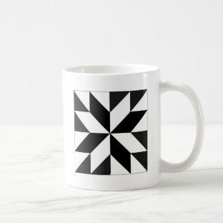 geométricos de los blocos tazas de café