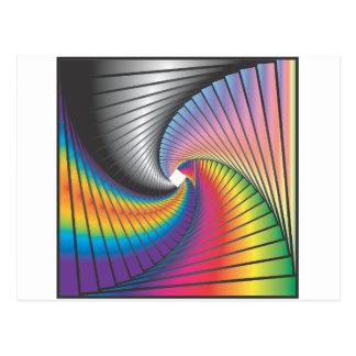 Geometrics #1 Psychedelia Postcard