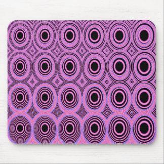 Geometrics Pink Circles Mousepads