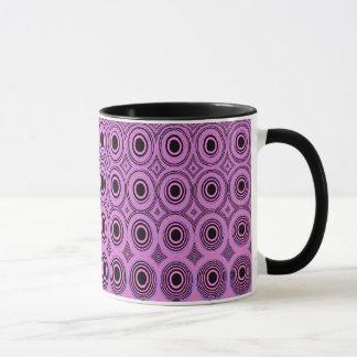 Geometrics Pink Circles Tea/Coffee Mug