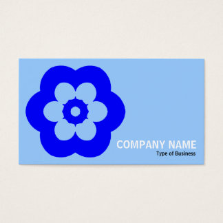 Geometropolis - 290514(3) - Shades of Blue Business Card