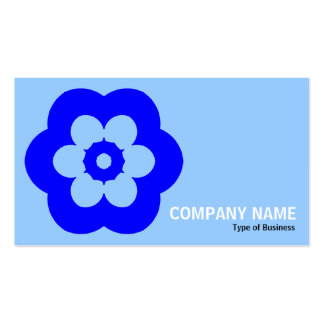 Geometropolis - 290514 (3) - sombras del azul tarjetas de visita
