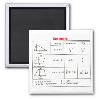 Geometry 1 2 inch square magnet