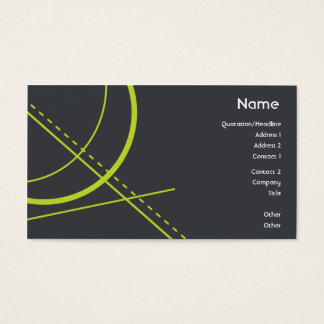 Geometry - Business Business Card