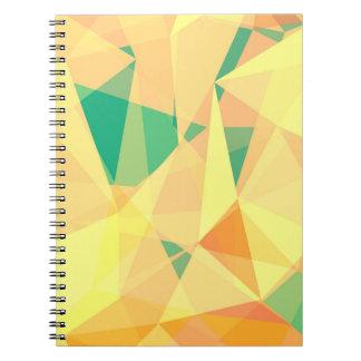 Geometry I Warm Spiral Notebook