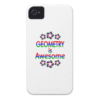 Geometry is Awesome iPhone 4 Case