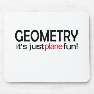 Geometry _ it's just plane fun mousepads