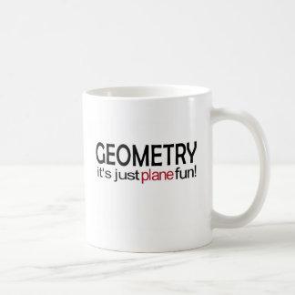 Geometry _ it's just plane fun coffee mugs