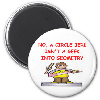 GEOMETRY 2 INCH ROUND MAGNET