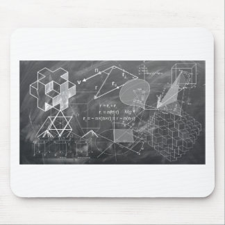 Geometry Mouse Pad
