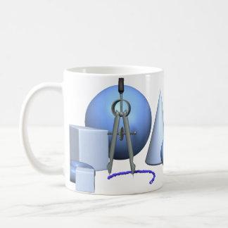 Geometry Classic White Coffee Mug