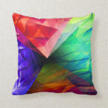 Geometry of Light Throw Pillows