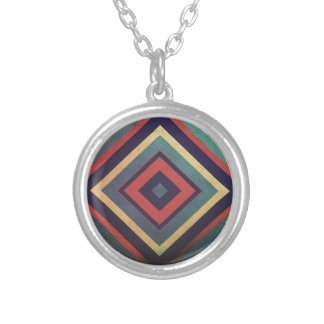 Geometry Round Pendant Necklace