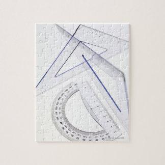 Geometry set. puzzle
