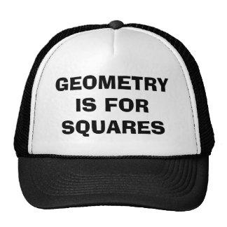 Geometry Squares Trucker Hats