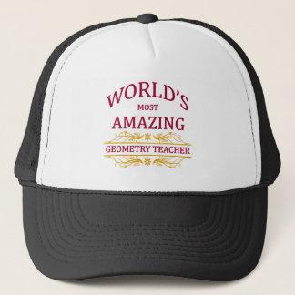 Geometry Teacher Trucker Hat