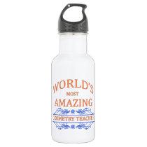 Geometry Teacher Water Bottle