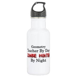 Geometry Teacher/Zombie Hunter Water Bottle