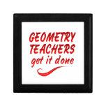 Geometry Teachers Jewelry Boxes