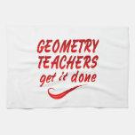 Geometry Teachers Kitchen Towels