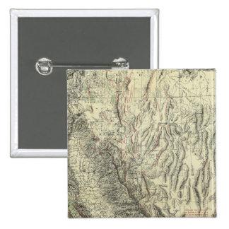 Geomorphic map, California, Nevada Pin