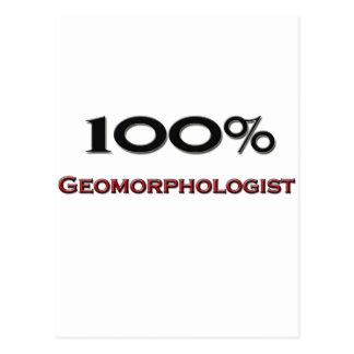 Geomorphologist del 100 por ciento tarjetas postales