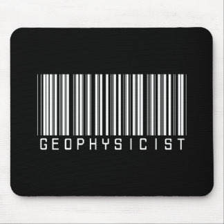 Geophysicist Bar Code Mouse Pad