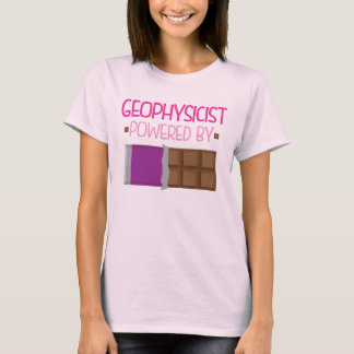 Geophysicist Chocolate Gift for Her T-Shirt