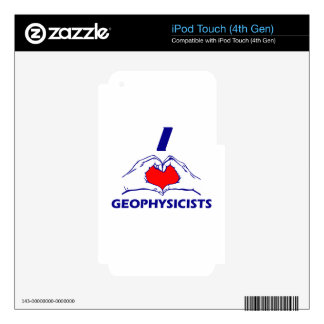 Geophysicists design iPod touch 4G skin