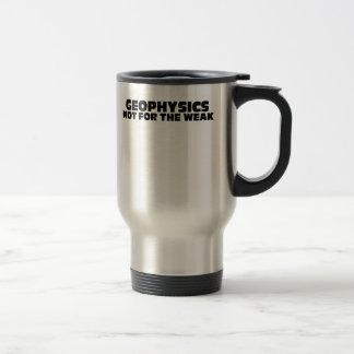 Geophysics-Not for the Weak 15 Oz Stainless Steel Travel Mug