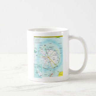 Geopolitical Regional Map of Antarctica Coffee Mug
