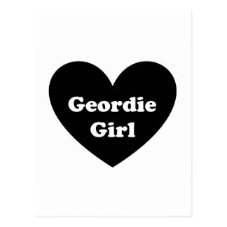 Geordie Girl Postcard