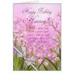 Geordie - Hinney Birthday Card For Special Lady