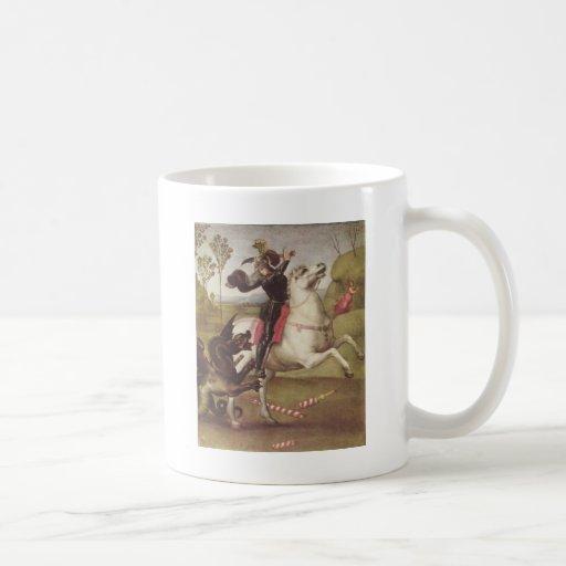 Georg im Kampf mit Classic White Coffee Mug