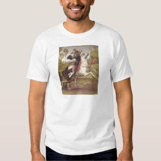 Georg im Kampf mit T Shirt