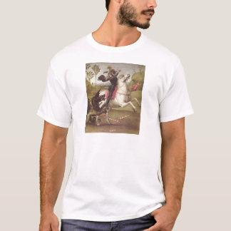 Georg im Kampf mit T-Shirt
