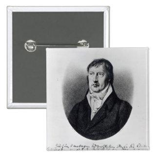 Georg Wilhelm Friedrich Hegel Button