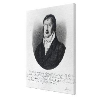 Georg Wilhelm Friedrich Hegel Canvas Print