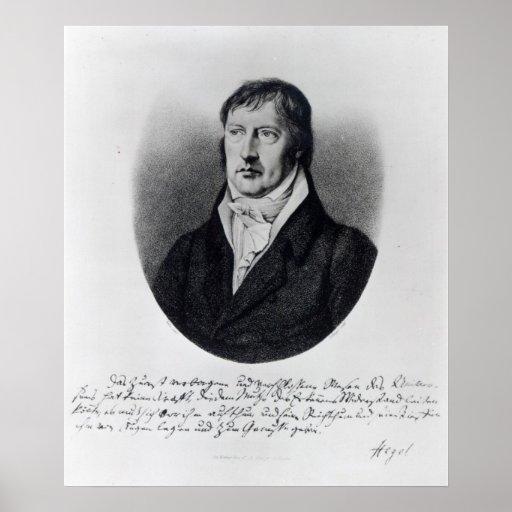 Georg Wilhelm Friedrich Hegel Print
