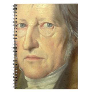 Georg Wilhelm Friedrich Hegel Spiral Notebook