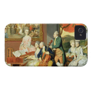George, 3rd Earl Cowper, with the Family of Charle iPhone 4 Case-Mate Case