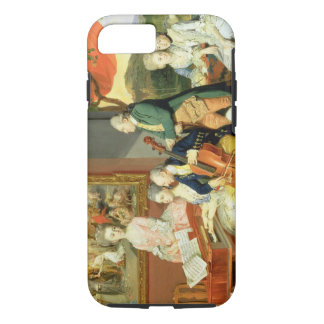 George, 3rd Earl Cowper, with the Family of Charle iPhone 8/7 Case