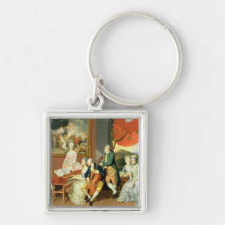 George, 3rd Earl Cowper, with the Family of Charle Keychain