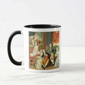 George, 3rd Earl Cowper, with the Family of Charle Mug