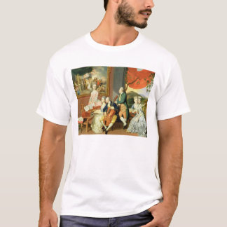 George, 3rd Earl Cowper, with the Family of Charle T-Shirt