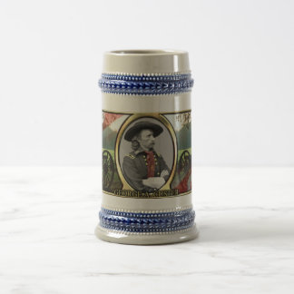 George A. Custer Civil War Stein