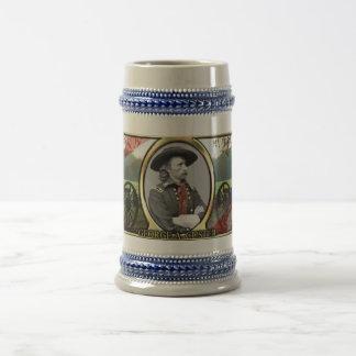 George A. Custer Civil War Stein Coffee Mugs